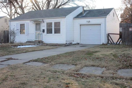 2 bed 1 bath Single Family at 1033 WAVERLY ST WICHITA, KS, 67218 is for sale at 55k - google static map