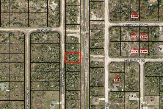 null bed null bath Vacant Land at 3223 NIGHTHAWK AVE SW PALM BAY, FL, 32908 is for sale at 7k - google static map