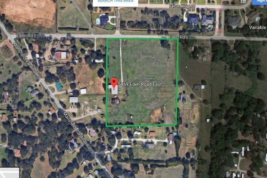 null bed null bath Vacant Land at 5844 Eden Rd Kennedale, TX, 76060 is for sale at 575k - google static map