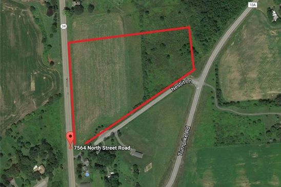 null bed null bath Vacant Land at 7564 N Street Rd Auburn, NY, 13021 is for sale at 320k - google static map