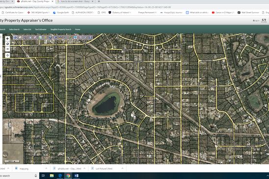 null bed null bath Vacant Land at 5790 N Crater Lake Cir Keystone Heights, FL, 32656 is for sale at 7k - google static map