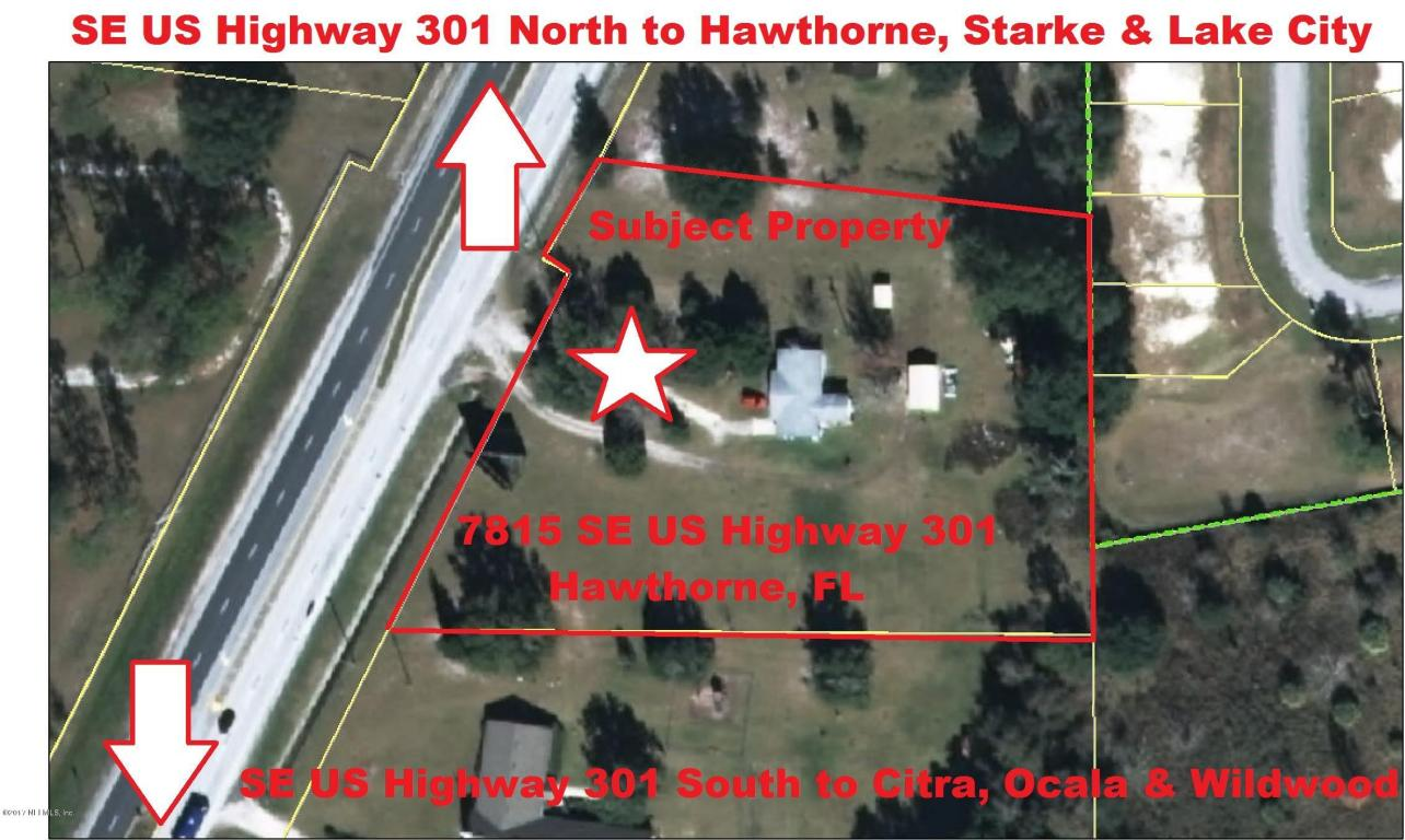 Se Th St Hawthorne FL RealEstatecom - Us route 301 map
